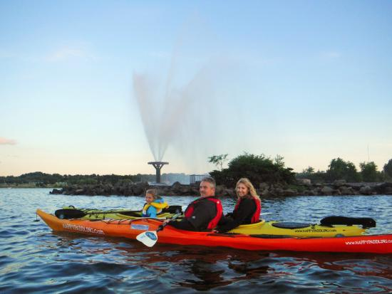 Barrie, Canada: Happy Paddling_The Reids