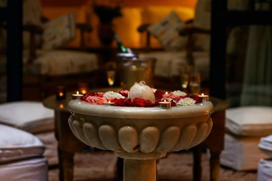 Riad Soundouss : Fontaine du patio