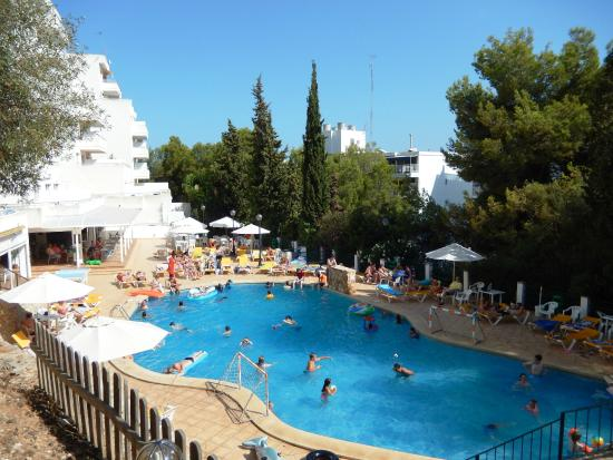 Pool Area Picture Of Vista Club Apartments Santa Ponsa Tripadvisor