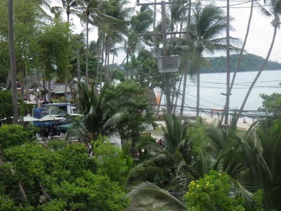 Samui Diving Resort : la vista dalla camera