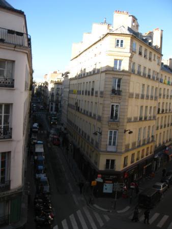Jeff Hotel- Paris: вид из окна №304