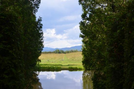 Jardin des quatre vents photo de auberge la chatelaine for Jardin quatre vents
