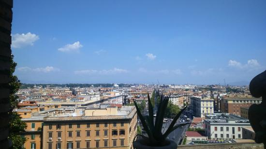 Hotel Stella: View from the breakfast room on the rooftop