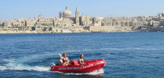 Malta Self Drive Boats