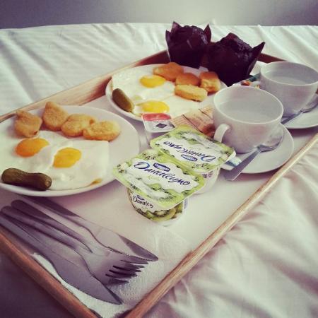 Element Hotel: Завтрак в постель