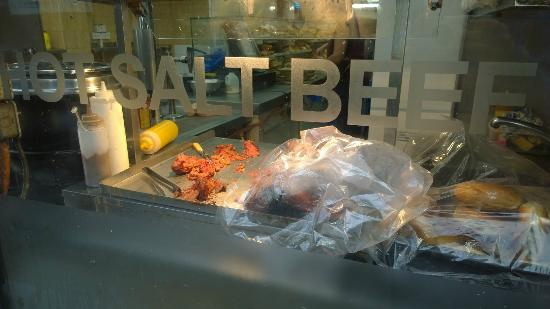 Brick Lane Beigel Bake: not to everyone's taste, but a great window display all the same