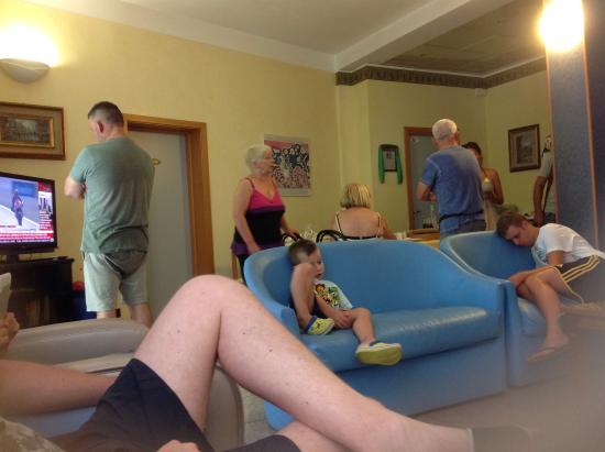 Hotel Arno: Sala relax