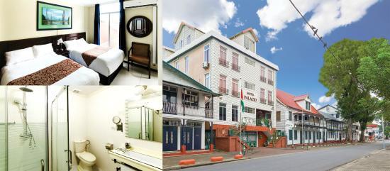 Hotel Palacio: In the center of UNESCO Surinam World Heritage
