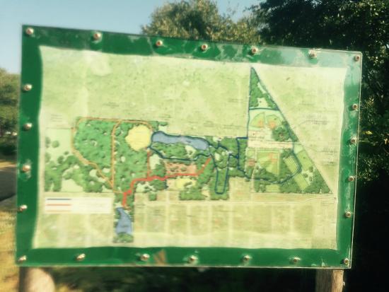 Map of Memorial Park Rockport TX