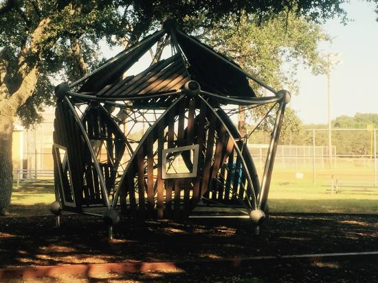 Rockport, TX: Playscape area for kids