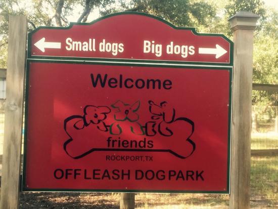 Memorial Park Rockport Texas Dog Park
