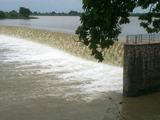 Jhansi, India: Parichha Dam