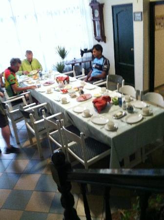 Alabardos Panzio: Breakfast room