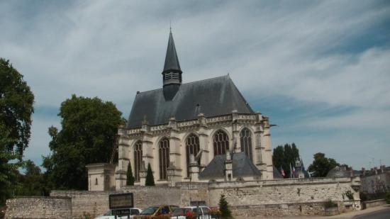 Sainte-Chapelle de Champigny sur Veude : Extérieur