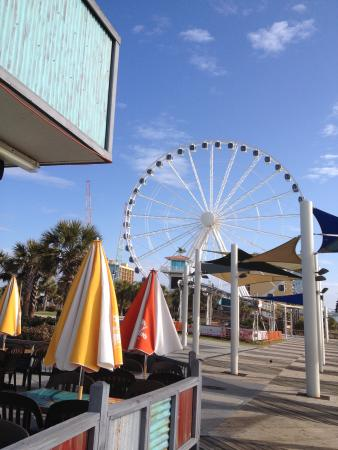 Indigo Inn: The famous skywheel