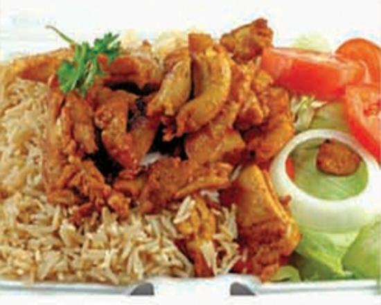 Open Sesame: Chicken Shawarma with Rice