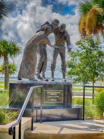 Bataan-Corregidor Memorial: The Bataan Monument, Kissimmee FL