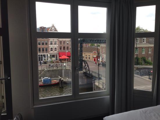 TownHouse-Inn: Vue d'une chambre sur le canal : le silence absolu !