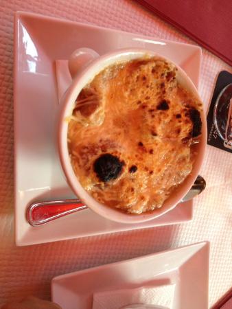 L'Entracte des Gobelins: Sopa de cebola.