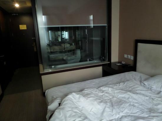 BEST WESTERN Grandsky Hotel Beijing : Schlafen