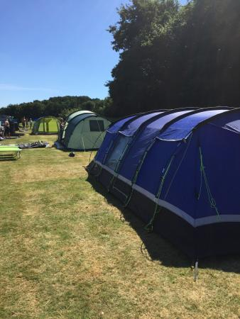 Carlyon Bay Caravan & Camping Park: Superb site, great location