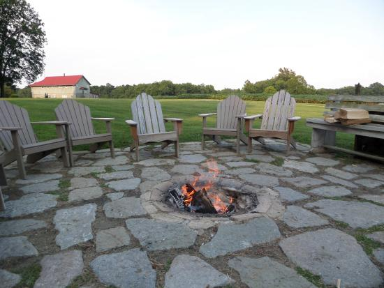 West Union, OH: Fire pit - great for relaxing at the end of the day!