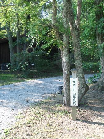 West Union, OH: Pathway to trails and cabins 1 - 6