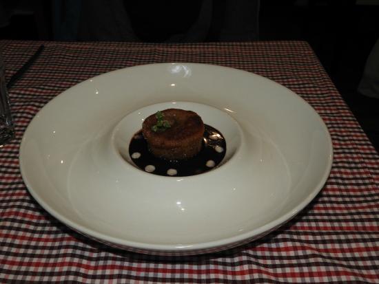 Marcelo Batata Restaurant: chocolate dessert