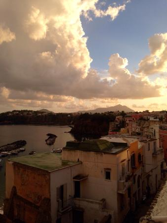 Il panorama dalla Piazzetta