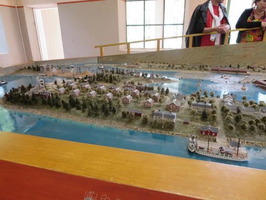 Vasterbotten County, Sweden: Model at the museum