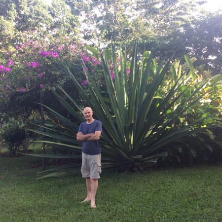 Tacacori EcoLodge: Jardin
