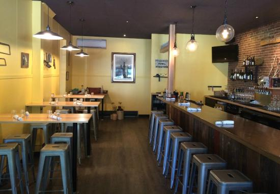 Thistle Pig Clean Lineodern Furnishings Highlight The Bar