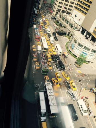 View from the 14th Floor at the manattham Times square di New York