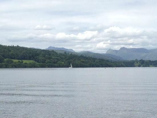 Bowness-on-Windermere, UK: From the boat #2