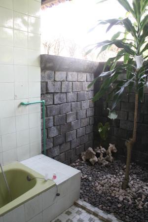 Poeri Devata Resort Hotel : Baño