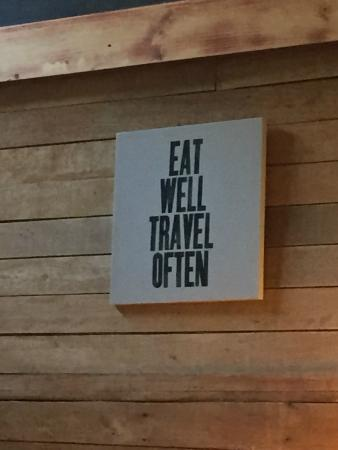 Cooking Lessons at Tree House : Good Advice