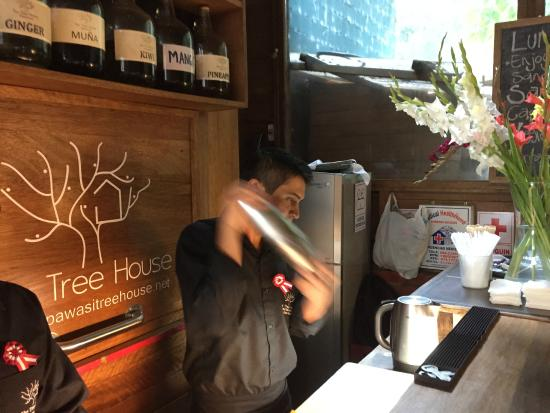 Cooking Lessons at Tree House : Pisco Sours