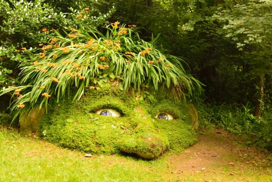 The giants head the lost garden of heligan picture of for Gardening jobs cornwall