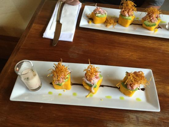 Cooking Lessons at Tree House : Appetizer