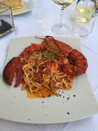 Spaghetti all'astice.... Veramente ottimi.