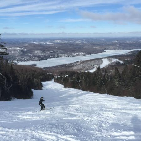 Embarc Tremblant: Powder in April - View of Lake