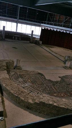 Musée de site Villa-Loupian : Villa romaine de Loupian