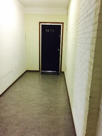 Boutique Hotel Huys van Leyden: the apartment hallway