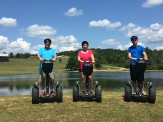 Segway of Western PA: By the fishing pond