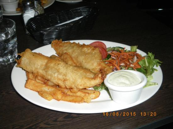 Albion Hotel: just the tastiest chips