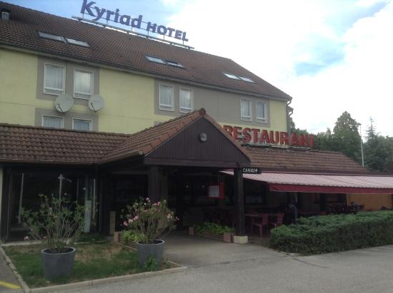 Kyriad Besancon - Palente : Главный вход