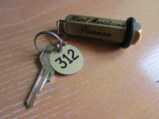 Hotel Meridiana: chiave