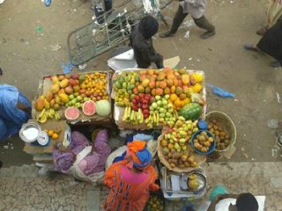 Nouakchott, Mauritania: marché