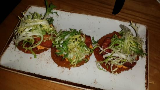 Fried Green Tomatoes BLT - Picture of Yardbird - Southern Table & Bar ...