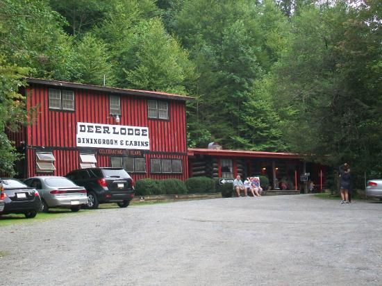Deer Lodge Dining Room Hiawassee Ga